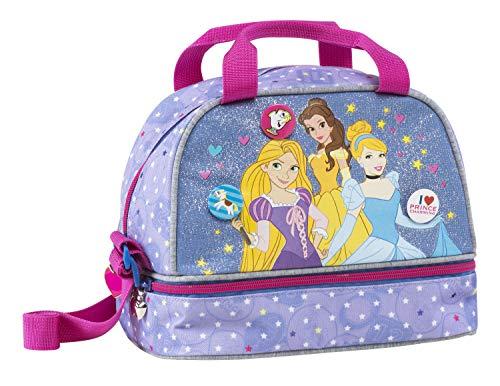 Disney Princess lunchbox - reistas/picknicktas - 22 cm - violet