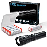 Linterna de mano Super brillante LED Linterna táctica Lámpara con...