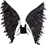 Disguise Women's Disney Maleficent Movie Maleficent Adult Wings Costume Accessory, Black, One Size