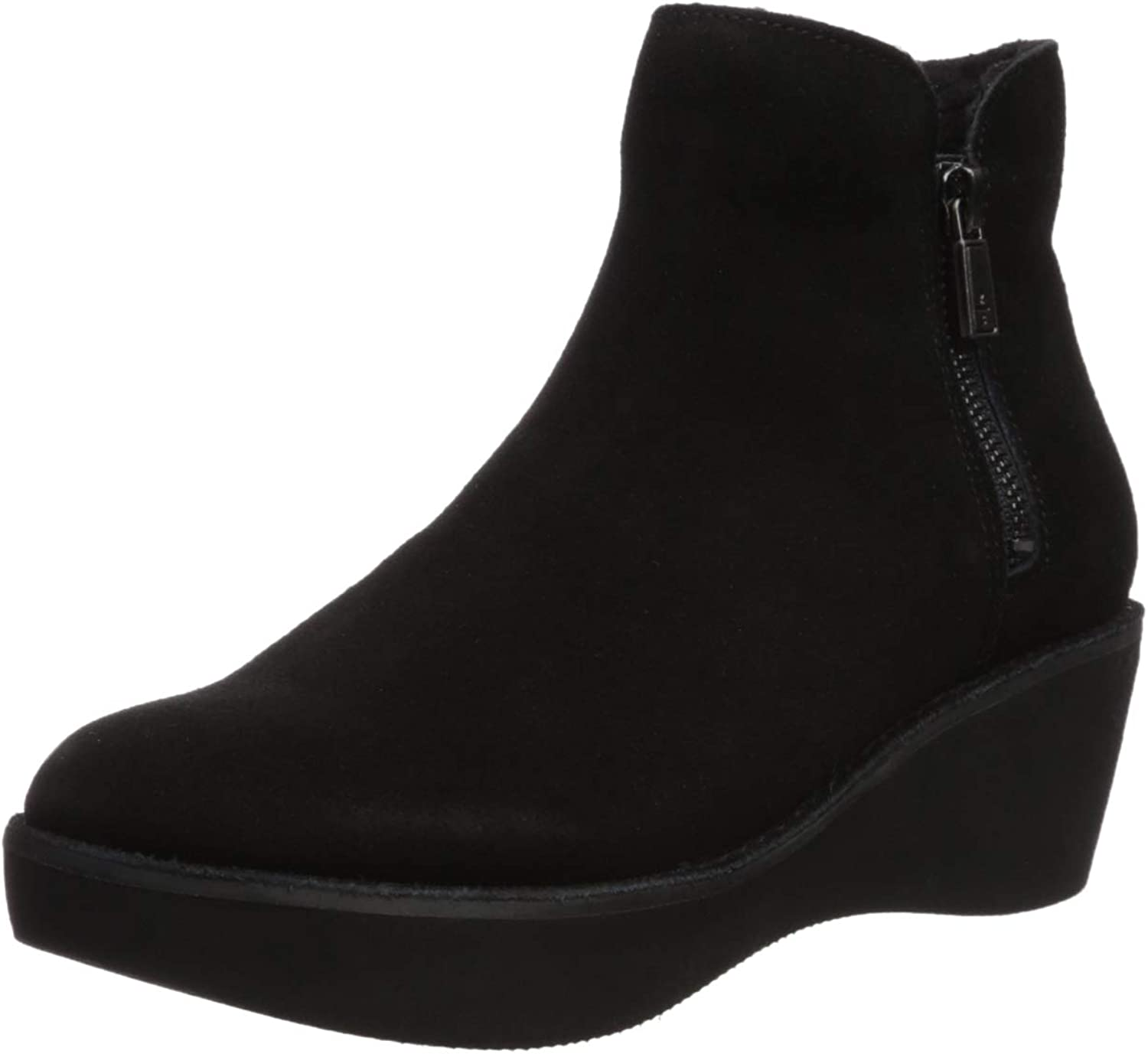 Kenneth Cole REACTION Womens Prime Cozy Platform Bootie with Side Zip Ankle Boot