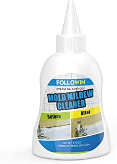 FOLLOWIN Mold and Mildew Stain Remover Gel Household Professional Instant Home Cleaner for Tiles Grout Sealant Bath Sinks Showers-8Oz