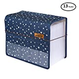 Expanding Files Folder A4 Accordion Organizers with Cover 13 Pockets, Expander Storage,Expandable Filing Folders Large Space