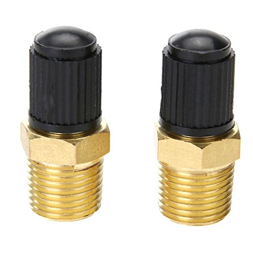 2 stücke 1/8 in Messing Reifen Reifen Luftkompressor Tank Füllventile für Dunlop Ventil
