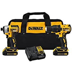 DEWALT brushless motor delivers up to 57 percent more run time over brushed DCF787 20 Volt MAX Compact Brushless 1/4 inches Impact Driver; Compact (7.52 inches front to back), lightweight design fits into tight areas DCD777 20 Volt MAX Compact Brushl...