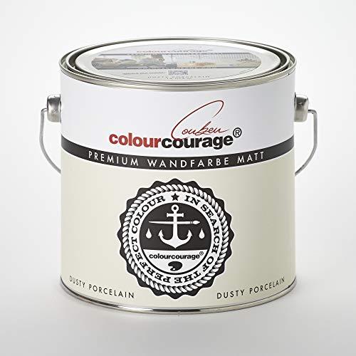 colourcourage L709449561 Premium matt Dusty Porelain 2,5L bunte Wandfarbe
