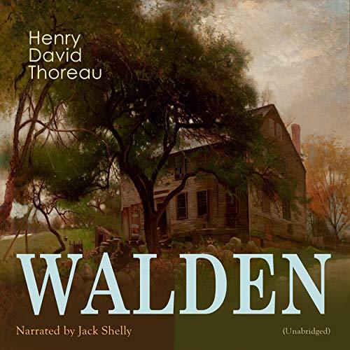 Walden audiobook cover art