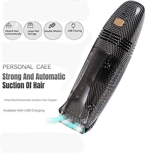 YZLL Power Haarschneider automatische Haar-Staubsaug Haarschneider Dual-Motoren for Kinder Elektrische Haartrimmer 0905