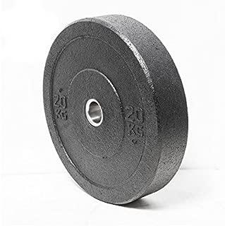 Bodykore N-DESTRUCTIBLE Crumb Bumper Plates- Recycled Rubber (10LB, 15LB, 25LB, 35LB, 45LB) High Temp Olympic Lifting