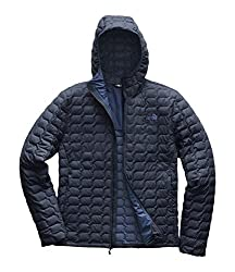 Quilted Navy North Face Men's Jacket