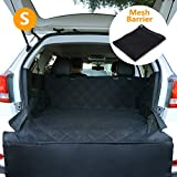 xc60 cargo cover - CCJK Dog Car Seat Cover & Cargo Liner Rear Bench, Waterproof Machine Washable & Nonslip Backing Free Pet Barrier Universal, Convertible Hammock Shaped Fit Cars SUV Trucks (Small)