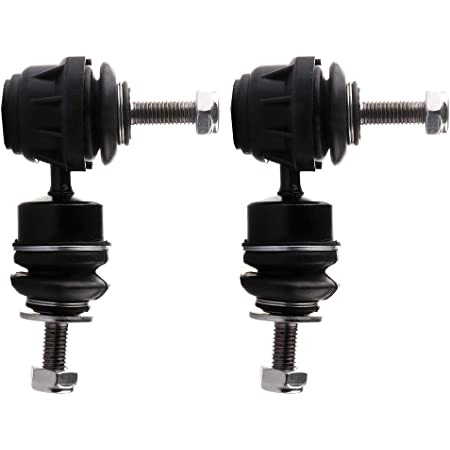 Detroit Axle New 4 Piece Front and Rear Left and Right Sway Bar End Links Kit for Mazda 3 and Mazda 5 Non Turbo Charged