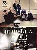 monsta X LIVIN' IT UP 告知ポスター