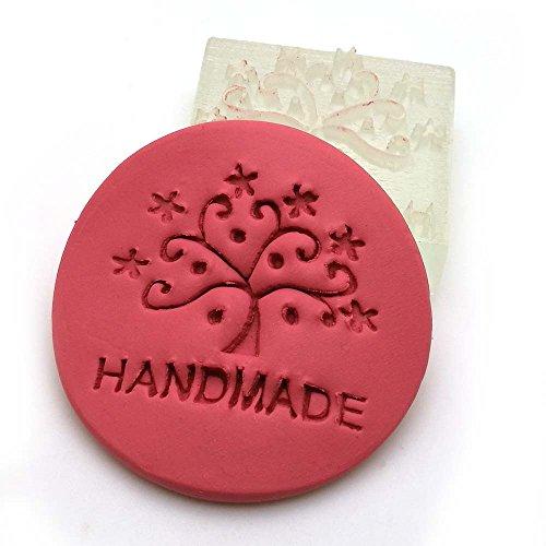 Tree handmade patterns Acrylic DIY resin chapte DIY handmade Resin soap stamp chapter mini diy patterns