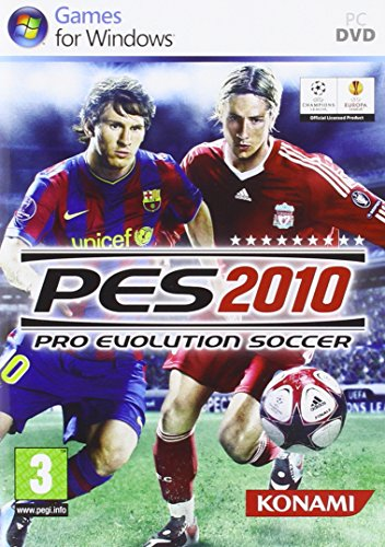 PES 2010 - Pro Evolution Soccer PEGI (PC CD Rom)