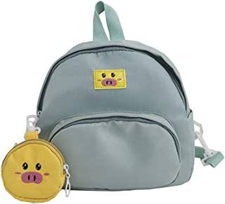 Women's Cute Backpack Travel School Shoulder Bag Daypack (Color : Green)