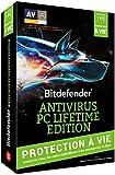 Bitdefender Antivirus PC Lifetime Edition - licence à vie (1 poste)