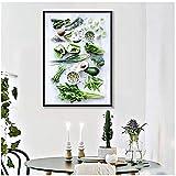 A&D Gemüse Früchte Home Decor Bilder Gesunde Ernährung