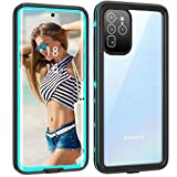 Waterproof Case for Galaxy S20 Ultra / Ultra5G, Built-in Screen Protector Work with Fingerprint ID Full Body Heavy Duty Protection Shockproof Cover for Samsung Galaxy S20 Ultra 6.9 inch (2020) (Blue)