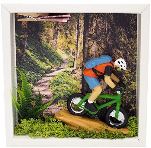 ZauberDeko Geldgeschenk Verpackung Mountainbike Fahrrad Tour Mann Gutschein Sport Ausrüstung