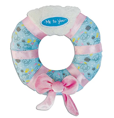 Me to You Hundespielzeug Soft Ring mit Masche, DM 17cm x 3,5cm