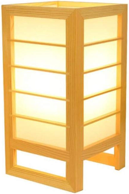 Led Lighttable Lampe Einfache Schlafzimmer Wohnzimmer Massivholz Dekorative Lampe, E27 Lampe  Led