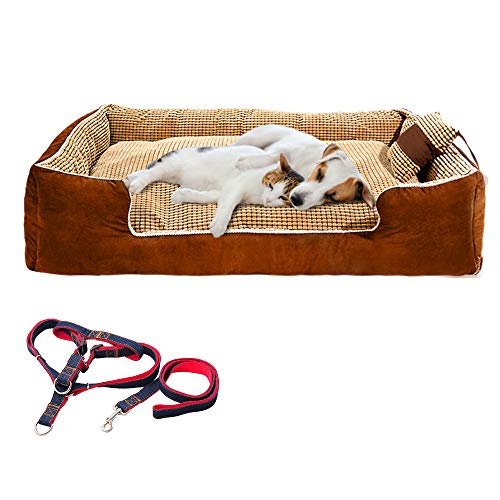 Large Dog Bed Rectangle Ultimate Dog Couch...