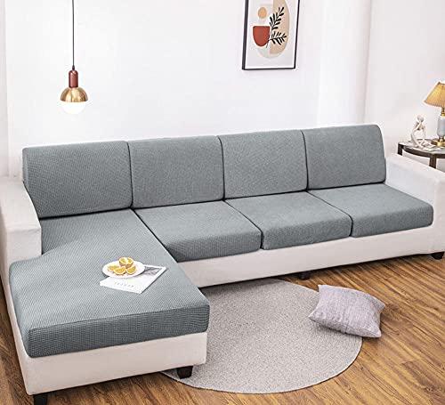 Fundas de sofá de Esquina,Juego de sofás Universal elástico Fort seasons-A-10_Increasing Double,Cubre Sofa Universal Tejido de Poliéster