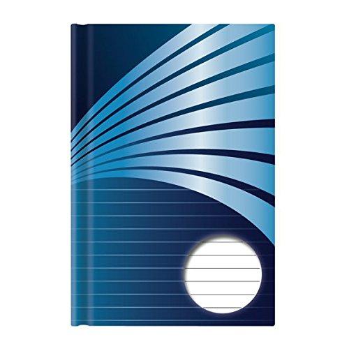 Stylex 76380 Kladde A5, liniert, blau