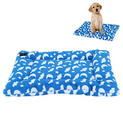 SHYEKYO Estera para Calentar Cachorros, Manta calefactora Lavable y Anti-descargas eléctricas para Cachorros para Mascotas para bebés para Mascotas recién Nacidas(35 * 45)