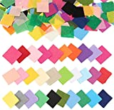 Outuxed 4800pcs 1inch Tissue Paper Squares, 30 Assorted Colors for Arts Craft DIY Scrapbooking Scrunch Art