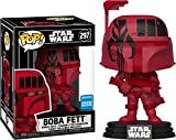 Desconocido Funko Pop! Star Wars - Boba Fett (Red Wonder con 2020 Exclusive)...
