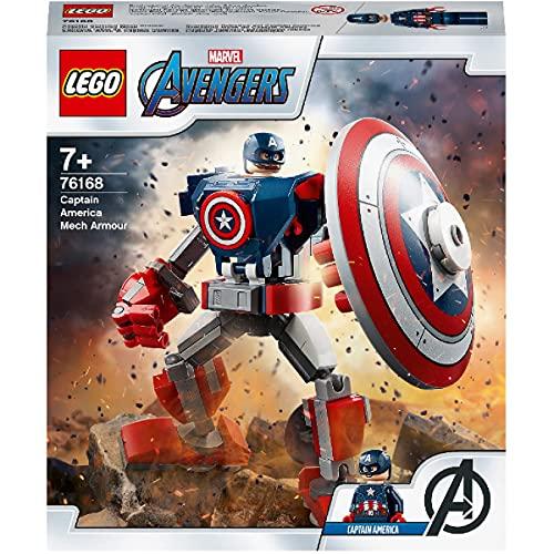 Juegos Lego – L'Armure – Robot de Capitán América – Los Vengadores – 76168