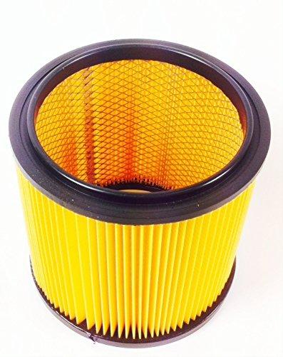 Grizzly Tools Faltenfilter Filter NTS Parkside PNTS 1500 B2 IAN 72080 + IAN 87778 mit Stahlinnengitter Filterpatrone Trockenfilter