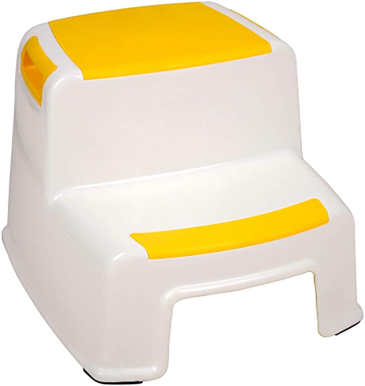 2 Step Stool for Kids   Toddler Stool for Toilet Potty Training, Slip Resistant Soft Grip
