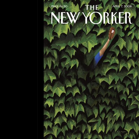 The New Yorker, April 7, 2008 audiobook cover art