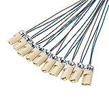 ODETOJOY G9 portalámparas con ISOL. Cable Cable lámpara Socket Socket de capacidad para LED halógeno