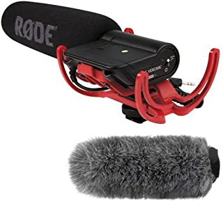 rode videomic microphone with rycote lyre shockmount