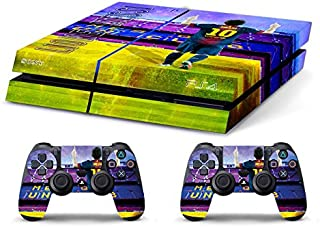 Skin Ps4 Old - LIONEL MESSI FC BARCELLONA ULTRAS - limited edition DECAL COVER ADESIVA Playstation 4 Slim SONY BUNDLE