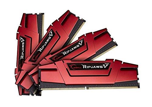 G.Skill RipJaws V - Memoria RAM de 16 GB (4 x 4 GB, 2800 MHz