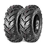 Maxauto 2PCS 22x7-11 Front ATV Tires 22x7x11 Mud Sand Snow Tire UTV Knobby Sport ATV UTV Tires AT All-Terrain 6Ply Tubeless