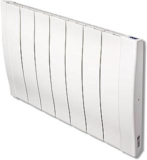 Haverland RC7W - Emisor Térmico De Inercia De Fundición De Aluminio Bajo Consumo, 1100 de Potencia, 7 Elementos, Pantalla LCD y Funcionamiento Programable