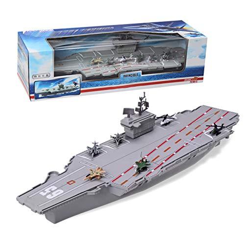 Giocattoli educativi Modello 1/700 War Ship Ship Aircraft Carrier USS Nimitz corazzata mondo plastica Warship Assembled Model Building Kit per bambini fai da te militari