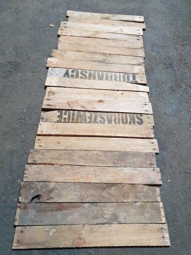 Kistenkolli Altes Land 20 Holzbretter von Alten Obstkisten Weinkisten Apfelkisten gebraucht zum Basteln