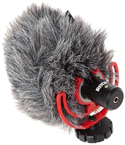 JOBY JB01507-BWW GorillaPod 3K Kit Flexibles und leichtes Stativ (mit Kugelkopf für DSLR-, CSC- und spiegellose Kameras, Traglast bis zu 3kg) & Rode VideoMicro kompakt On Camera Microphone