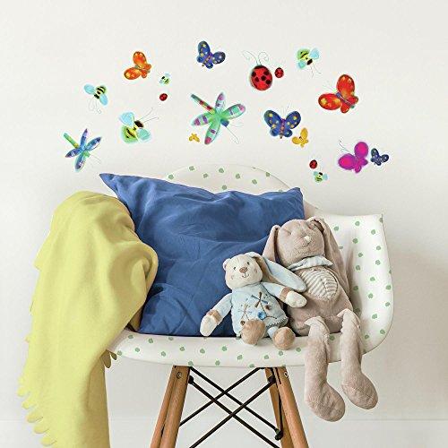 RoomMates - Wandsticker Schmetterlinge 33 Stück