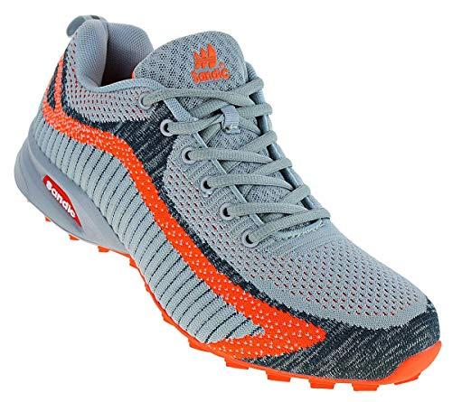 Sandic 622 Neon Turnschuhe Sneaker Sportschuhe Herren, Schuhgröße:46