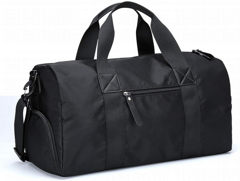 Klerokoh Reise-Seesack trockene und nasse Trennung Sport-Sporttasche mit Schuhfach für Mnner, Frauen (Größe   Large)
