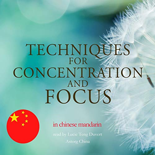 『Techniques for concentration and focus in Chinese Mandarin』のカバーアート