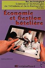 Economie et gestion hôtelière 1re STHR - Tomes 1 et 2 de Frédérique Bertholio
