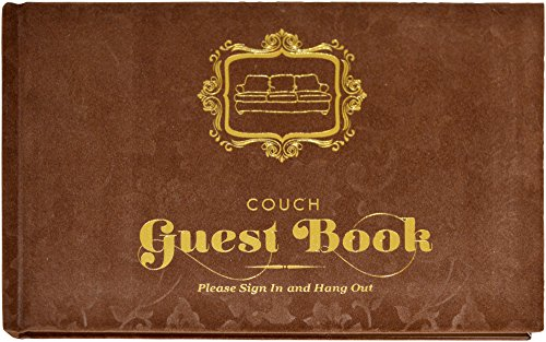 Knock Knock 50033 Couch Guest Book
